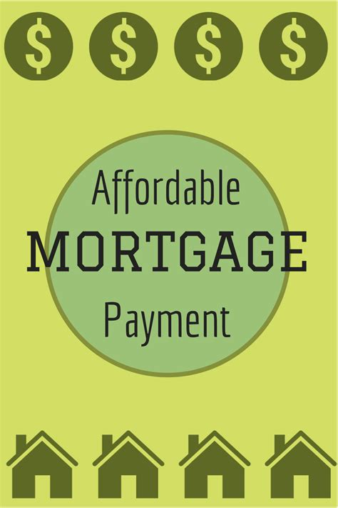 affordable mortgage payment