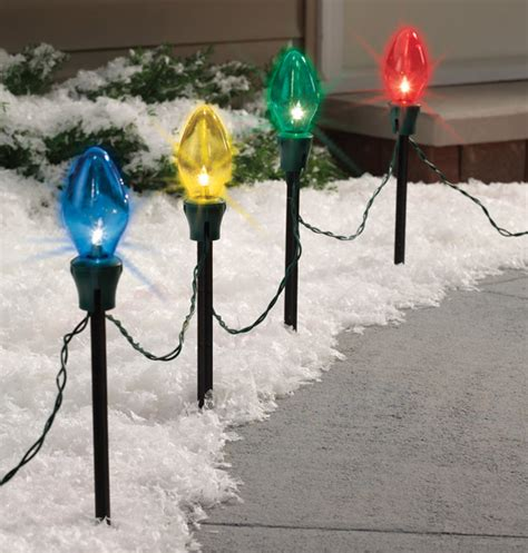 outdoor christmas decorations stakes myideasbedroom com