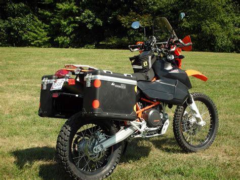 ktm 690 adventure bike 5 custom adventure bikes built by quot real quot