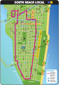 south florida beaches map south tourist map miami florida mappery