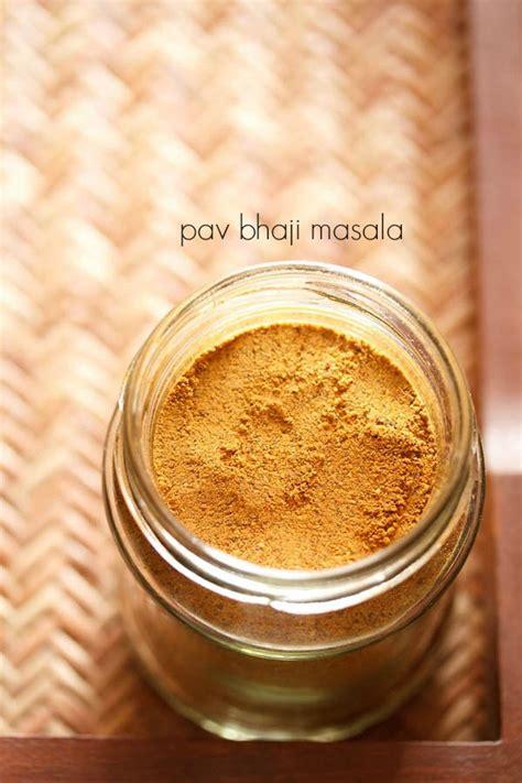 pav bhaji masala powder recipe how to make pav bhaji