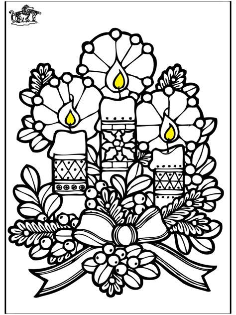 candele di natale da colorare candele di natale disegni da colorare natale