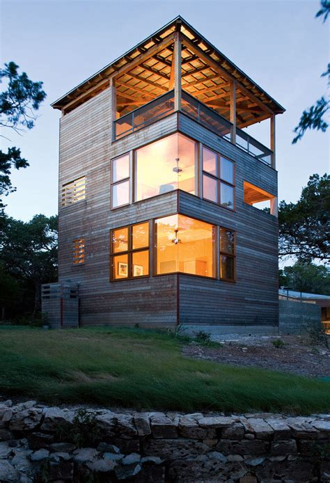 tower house  built   extension   home  texas