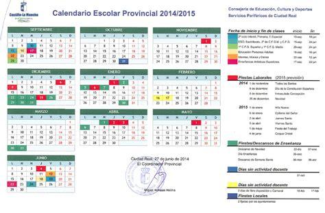 Calendario Escolar Castilla Y 2011 12 A La Tinaja