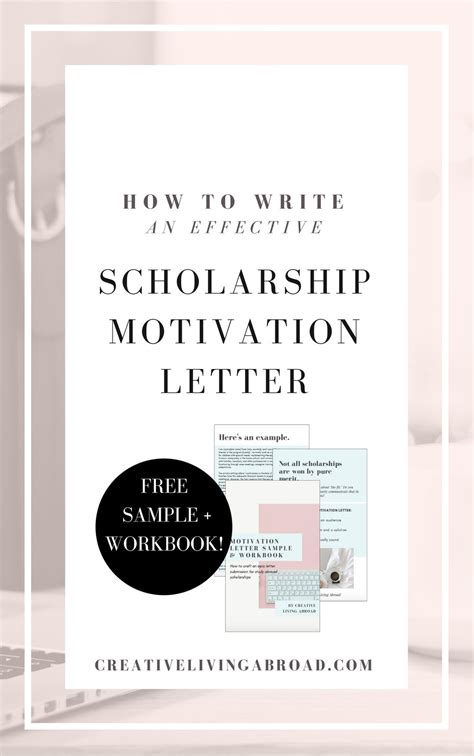 Motivation Letter Exle Study Abroad how to write an effective scholarship motivation letter