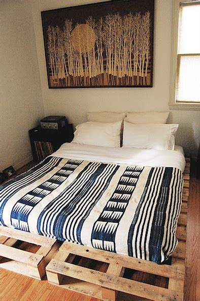 shipping pallet bed the secret of shipping pallet beds improvised life