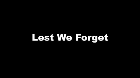 Lest We Forget by What About The Animals Lest We Forget Mccarthy Wood 174