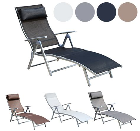 chaise lounge ebay chaise lounge chair folding pool beach yard adjustable