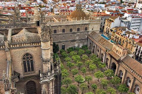 PHOTO: Court of the Oranges in Seville Cathedral, Spain