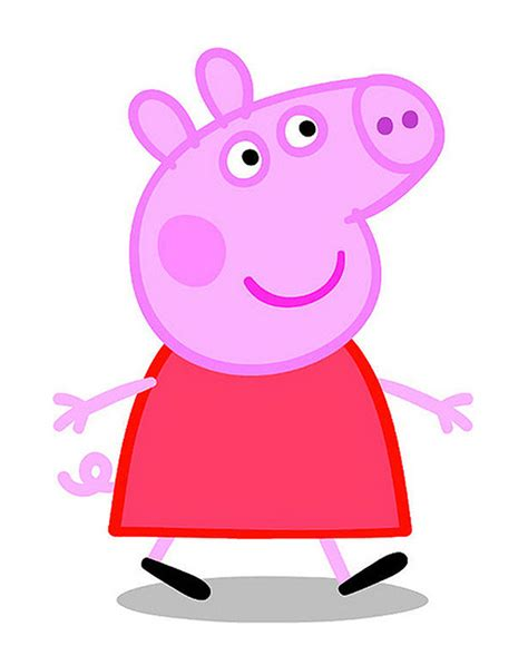 peppa pig peppa and free coloring pages of peppa pig house