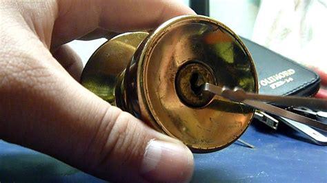 Schlage Door Knob Locks Me Out by Jake S Door Knob Wafer Lock