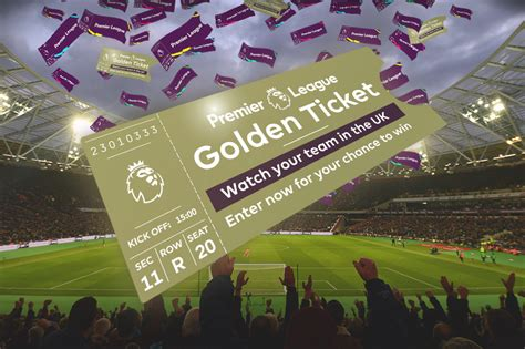Twitter Sweepstakes Rules - the premier league golden ticket twitter sweepstakes official rules