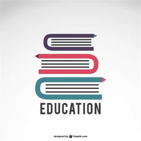libro the graphic design idea logo de educaci 243 n con libros descargar vectores gratis
