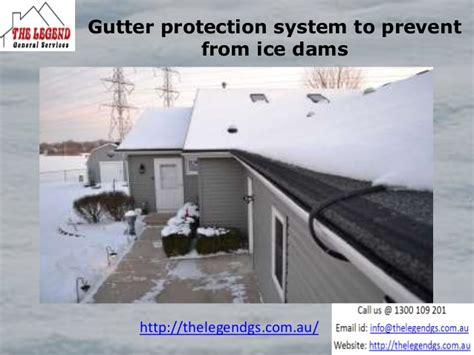 How To Prevent Dams From Gutter Protection System To Prevent Dams