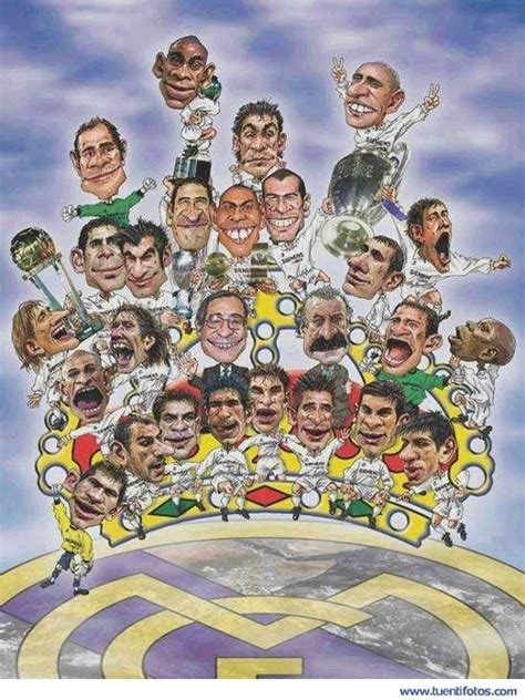 imagenes real madrid caricaturas caricaturas del real madrid