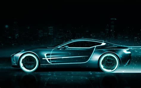 Car Neon Wallpaper by Aston Car Neon Style Lugares Para Visitar