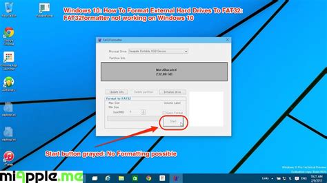 format fat32 in win 10 windows 10 how to format external hard drives to fat32