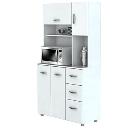 microwave cart with drawer white inval america 4 door storage cabinet with microwave cart