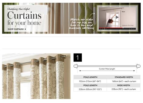 curtain sizes chart curtain size chart uk curtain menzilperde net