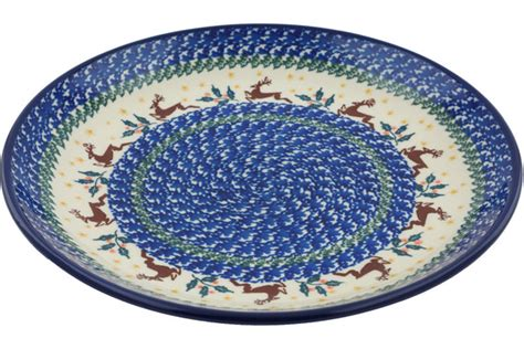 polish pottery house 11 inch dinner plate 1485x h0918i polish pottery house
