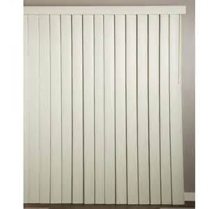 Achim Ribbed Alabaster Or White Vertical Blinds