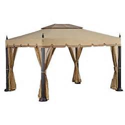 Home Depot Patio Gazebo Replacement Canopy For Home Depot S Mediterra Gazebo 10 X12 Gazebos Patio And Furniture