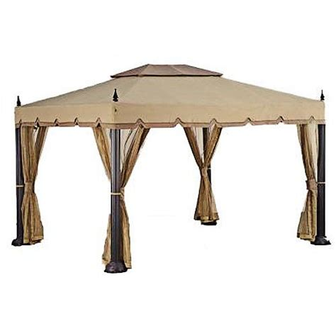 Gazebo Awning Replacement by Replacement Canopy For Home Depot S Mediterra Gazebo 10 X12 Gazebos Patio And Furniture