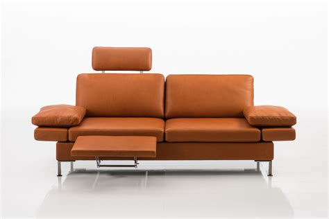 sofa with extendable footrest alba products br 252 hl sippold gmbh alba