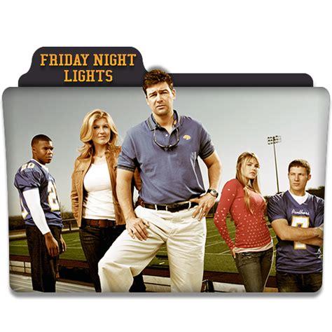 friday lights tv series friday lights tv series folder icon by dyiddo on