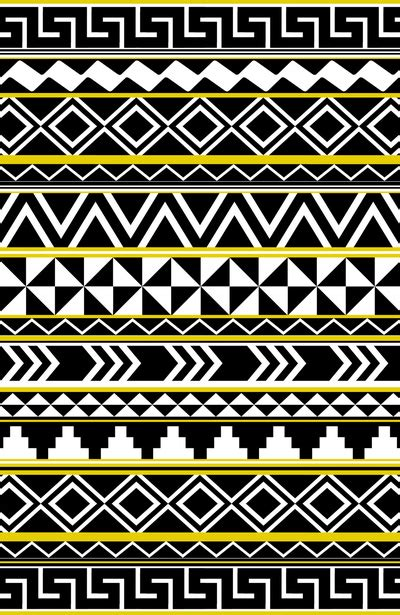 pattern drawing tribal tribal pattern art print by taylor payne society6