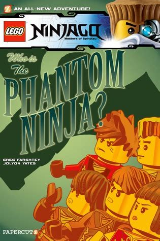 lego ninjago 10 the phantom by greg farshtey
