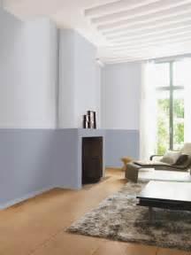 deux couleurs de peinture grise pour un salon sobre et