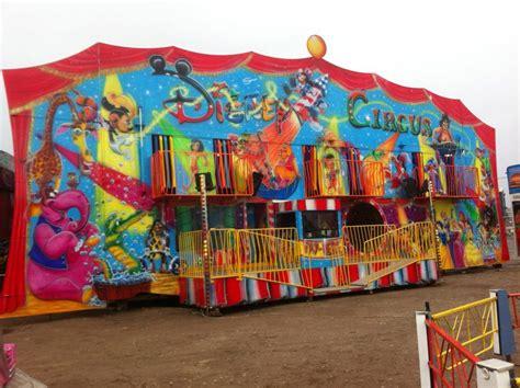 Disney Circus funhouse disney circus west funfairs