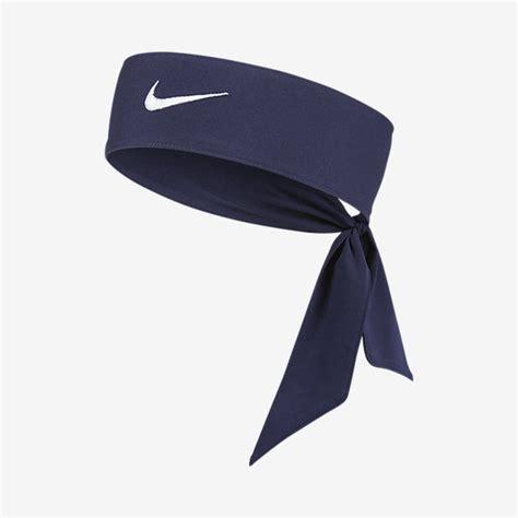 new womens nike tie dri fit 2 0 navy headband tennis