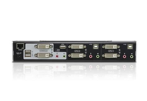 Sale Kvm Switches Aten Dvi D Kvm Cable X0009 2l 7d02v 2 port usb dvi dual link dual display audio kvmp switch cs1642a aten desktop kvm switches