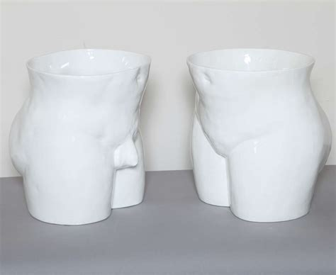 pair of italian pottery torso planters for sale at 1stdibs