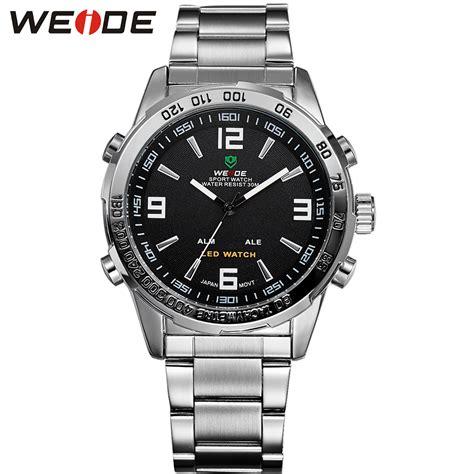 Uhr Schriftanzeige by Kaufen Gro 223 Handel Weide Led Uhr Aus China Weide Led