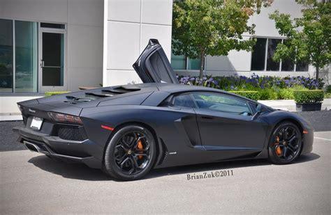 Lamborghini Aventador Black Matt by Lamborghini Aventador Matte Black Neet