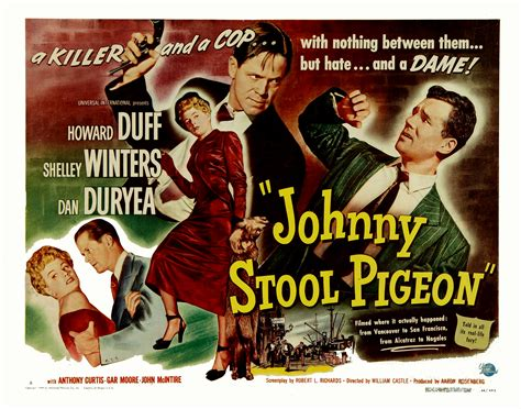 Stool Piegon by Dan Duryea Central Johnny Stool Pigeon 1949