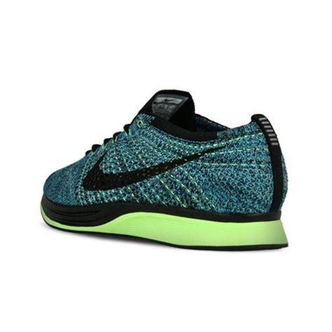 Nike Flayknit Black Blue nike flyknit racer blue lagoon black