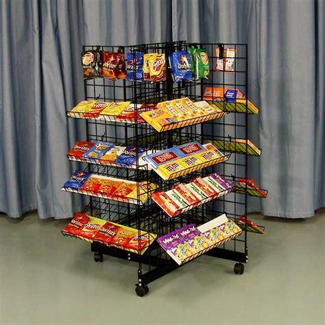 Snack Rack by 4 Way Or Snack Rack Store Fixture Warehouse