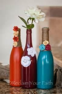 pretty room decor wine bottles home decor