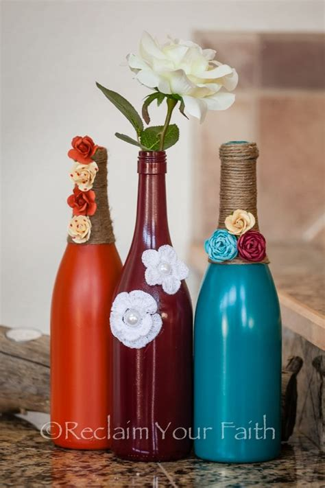 Diy Home Decorations Ideas by Wine Bottles Decor Picmia