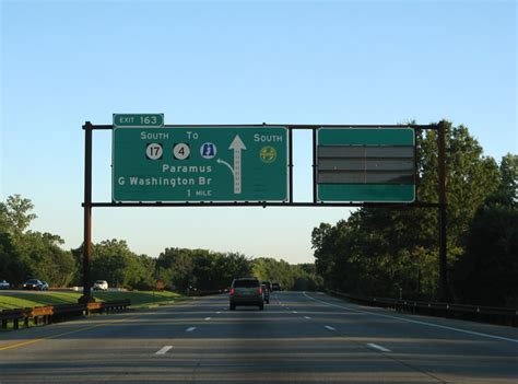 Garden State Plaza To Nyc New Jersey Aaroads Garden State Parkway South