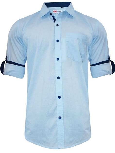 Where To Get Shirts Nologo Sky Blue Casual Shirt Nologo Cs 008 Cilory