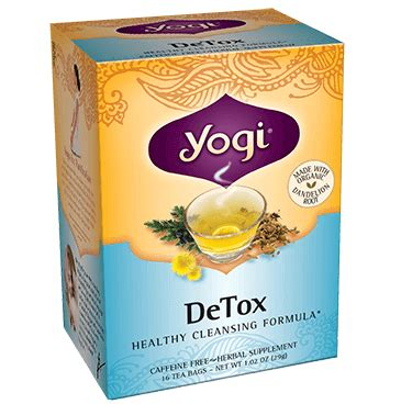 How Does Detox Tea Work by Yogi Detox Review Does Yogi Detox Work Side Effects
