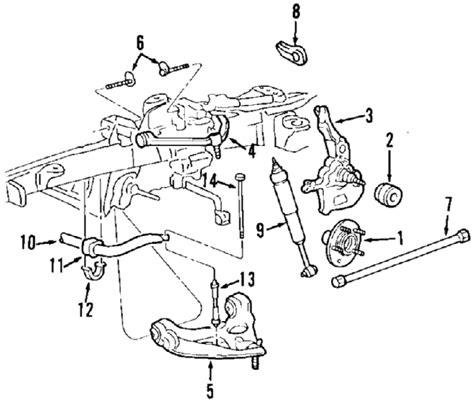 1996 ford ranger front suspension diagram 2002 ford ranger suspension diagram wiring diagram
