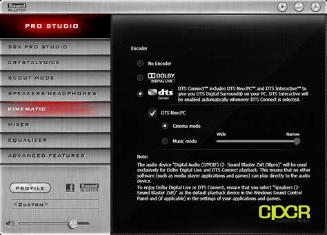 tr editpro soundeditor soundtower software software creative sound blaster zxr pcie sound card review custom