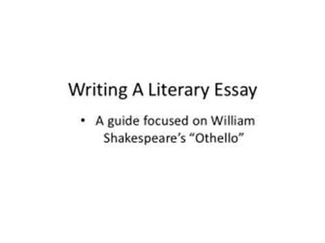 Othello Literary Essay by Othello Quotes Iago Manipulation Quotesgram