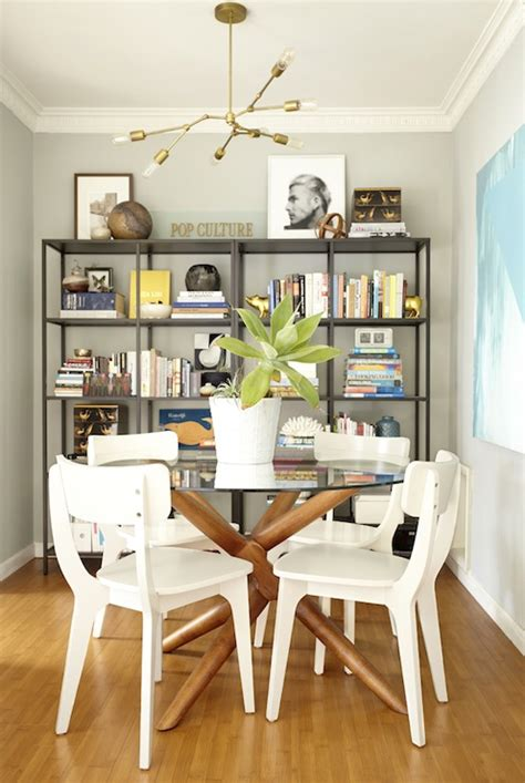 shelves for dining room ikea vittsjo shelving unit eclectic dining room